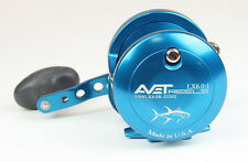 Avet LX 6.0 Single Speed Lever Drag Casting Reels Blue