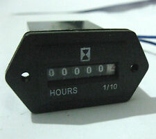 Hour Meter General purpose 120 Volts AC rectangular