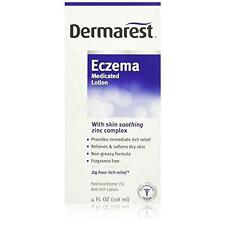 5 Pack Dermarest Eczema Medicated Lotion, Itch Relief Hydrocortisone 1% 4oz Each