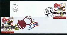 ISRAEL THAILAND 2014 - 60 YEARS OF FRIENDSHIP THAILAND FDC + STAMP MNH