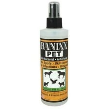 Banixx Pet Wound Skin Care Anti-Bacterial Fungal Infection Horses Hot Spots Dogs