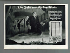 1938 Berlin Germany Postcard Cover Anti Bolshevik Conference Judaica Ghetto