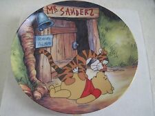Disney Winnie The Pooh HELLO POOH Fun In 100 Acre Woods Collection Plate 1st