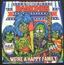 "RAMONES AUFKLEBER / STICKER # 12 ""WE'RE A HAPPY FAMILY"" - PVC - WETTERFEST"