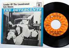 THE DETERGENTS 45 Leader Of The Laundromat / Ulcers ROULETTE Novelty POP w3508