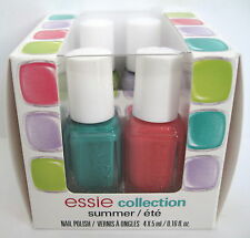 essie SUMMER COLLECTION 4-pc Nail Polish Cube Set ~ NAUGHTY SUNDAY MERRIER STEAM