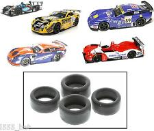 'New' Genuine Scalextric W9063 Lister Storm & TVR Tuscan Pack of 4 Tyres