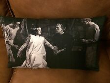 "Universal Monsters Halloween BRIDE OF FRANKENSTEIN 12""x20"" Lumbar pillow"