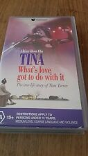 TINA WHAT'S LOVE GOT TO DO WITH IT - TINA TURNER LIFE STORY VHS VIDEO
