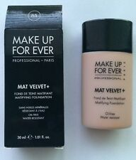 MAKE UP FOR EVER Mat Velvet + Matifying Foundation #65 Golden Beige
