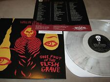 WAILIN STORMS One Foot in Flesh Grave NEW Clear Colored Vinyl LP +Mp3 Download