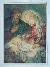 SULAMITH WULFING original art post card print vintage SM1 Christmas