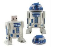 16gb r2d2 Star Wars USB 2.0 Pen Drive Flash Memory Stick NUOVO r2 d2 16 GB Robot