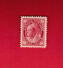 1897  #  69 *  VFH  TIMBRE CANADA  STAMP  QUEEN VICTORIA MAPLE LEAF  ISSUE