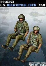 Bravo6 1:35 US Helicopter Crew Vietnam - 2 Resin Figures #B6-35073