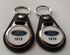 1978 FORD KEYCHAIN 2 PACK CLASSIC TRUCK AND CAR  LOGO