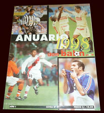YEARBOOK 1988 Don Balon # 4 Special Magazine Football Soccer Peru