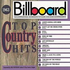 Billboard Top Country Hits: 1963 by Various Artists (CD, Jun-1990, Rhino (Label)