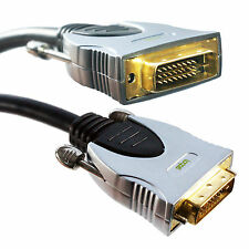 3m QUALITY DVI-D Male to Plug Dual Link Cable - PC/Laptop to Monitor Video Lead