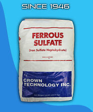 Ferrous Sulfate Heptahydrate 1 lb Bag 20% Iron