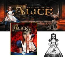 American McGee´s ALICE PC DEUTSCHE VOLLVERSION Kult !! DEUTSCH