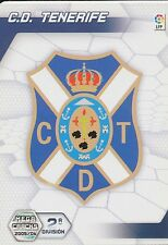 N°423 ESCUDO BADGE # CD.TENERIFE TRADING CARD PANINI MEGACRACKS LIGA 2006