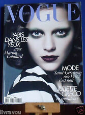 ▬►Vogue 910 Septembre 2010 Marion Cotillard_Juliette Gréco_Fashion Haute Couture