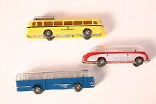 """Wiking 1: 87 Jeu """" 50 Jahre - Modèles de trafic """" trois Bus autocars (7448)"""