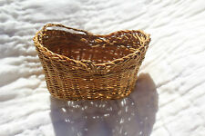 Early 1900's ANTIQUE DOLLHOUSE BASKET Exquisite! MINIATURE for DOLL
