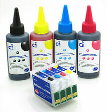 Refillable Ink Cartridge Kits fits Epson SX425W SX435W SX438W SX445W NON-OEM