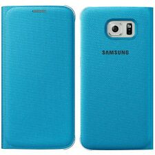 Genuine Samsung FLIP CASE GALAXY S6 SM G920 F smartphone cover original wallet