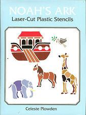 Noah's Ark Laser-Cut Plastic Stencils - 11 stencils by Celeste Plowden