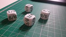 Magic the gathering MTG Jund DICE TARMOGOYF power resistance set of 4