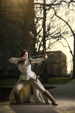 """Snow White's Bow from """"Once Upon a Time"""" PVC Functional Bow  - Handmade"""
