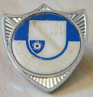 BOLTON WANDERERS Vintage 1970s insert type badge Brooch pin Chrome 30mm x 33mm