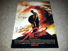 "300 ; RISE OF AN EMPIRE CASTX3 PP SIGNED 12"" X 8"" A4 PHOTO POSTER EVA GREEN"
