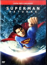 SUPERMAN RETURNS DVD FILM Usato Excellent Vers.Noleggio