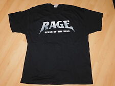 Rage - Speak Of The Dead Logo Tour T-Shirt XL NEU