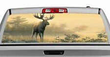Truck Rear Window Decal Graphic [Wildlife / Northwoods Moose] 20x65in DC48104