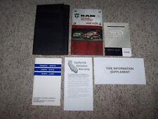 2012 Dodge Ram Truck 1500 2500 3500 Owner Operator User Manual ST SLT RT Laramie