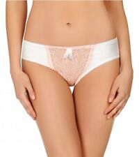 Pleasure State Mini brief Penelope Jane Ivory/Peach Size L