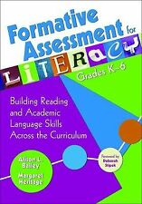 Formative Assessment for Literacy, Grades K-6 : Building Reading and Academic...