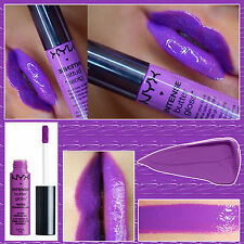 NYX INTENSE BUTTER LIQUID LIPSTICK - BERRY STRUDEL - BRIGHT PURPLE VIOLET
