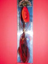 THUNDER BUCKTAIL XXXL SPINNER JENZI THUNDER BLADE 69g 26cm HECHT ZANDER WELS N2