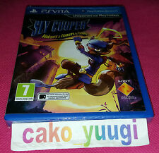 SLY COOPER VOLEURS A TRAVERS LE TEMPS SONY PS VITA NEUF SOUS BLISTER 100% FR