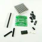 5* MAX7219 Dot Matrix Kontrolle Modul DIY kit Cascade Control Display Module Gut