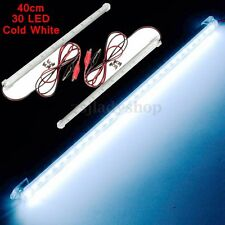 2x 40cm LED 5630 SMD Interior Light Strip Bar Lamp Car Van Caravan LWB Fish Tank