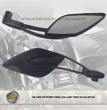FOR DUCATI MONSTER 1000 DARK 2004 04 PAIR REAR VIEW MIRRORS E13 APPROVED SPORT L