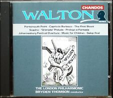 Bryden THOMSON: WALTON Music for Children Scapino Galop Johannesburg Festival CD