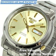 SEIKO 5 SNKK69 SNKK69J Automatic Silver Gold New Men's Watch Made in Japan F/S